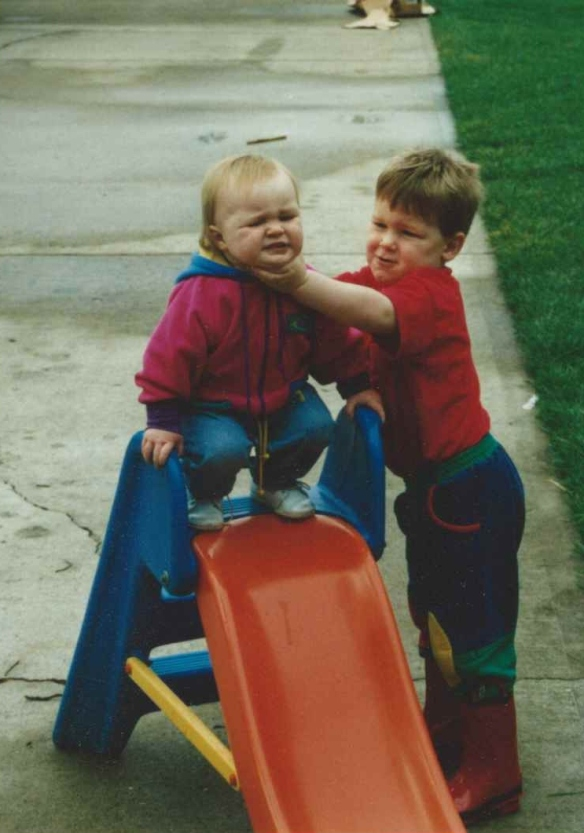 Little Chris and casey